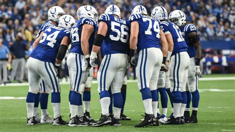 ESPN: Colts Have The NFL's Best Pass-Blocking Offensive Line