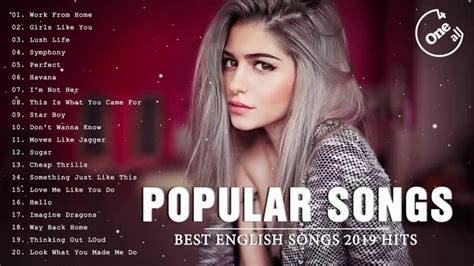 Top Hits 2019 - The Most Popular Of Pop Songs 2019 - Best