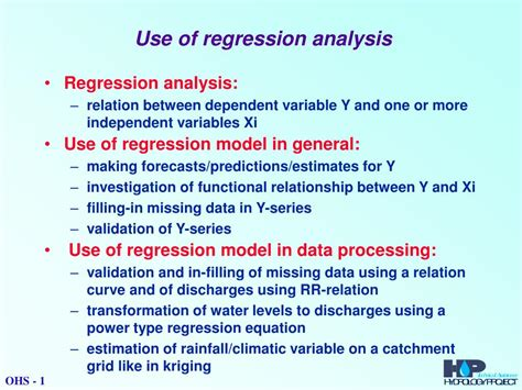 PPT - Use of regression analysis PowerPoint Presentation