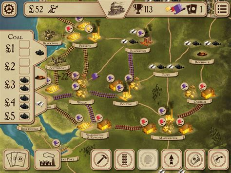 Brass iPad Review   Board Game Quest
