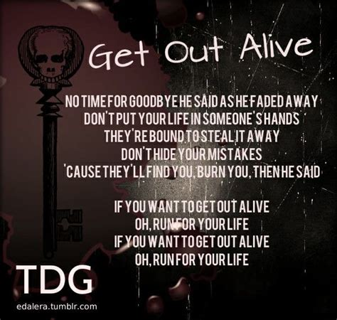 Three Days Grace - Get Out Alive | Three days grace, Alive