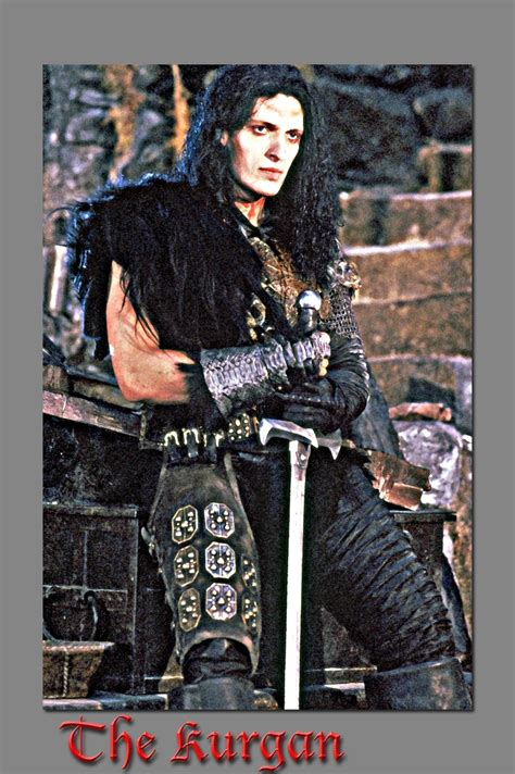 In the 1986 action/sci-fi film, Highlander, Clancy Brown