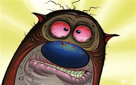12 'Ren And Stimpy' Closeups You're Not Brave Enough To