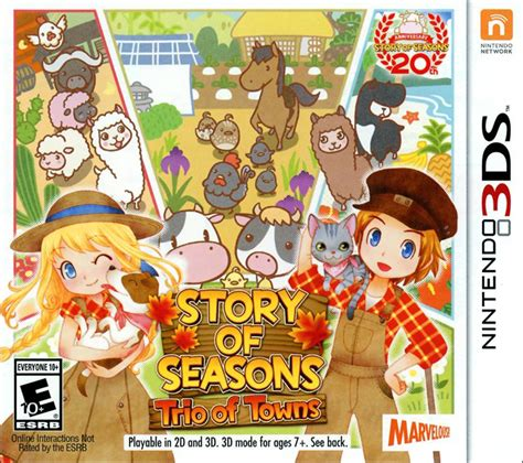Story of Seasons: Trio of Towns | The Harvest Moon Wiki