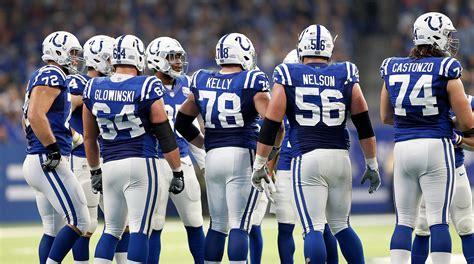 Colts have a top-ranked offensive line, analytics site says