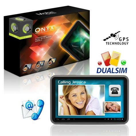 Point of View Onyx 527 Tablet mit Telefonfunktion, GPS