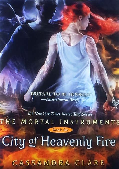 Finally, the Cover to CITY OF HEAVENLY FIRE | Fire book