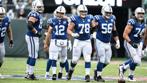 Offseason Improvements To Colts' Offensive Line Coming To
