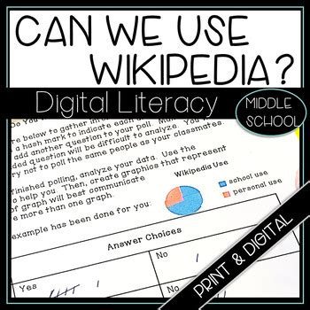 Digital Literacy How Wikipedia Works by Just Add Students