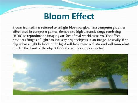 PPT - Post-rendering Cel Shading & Bloom Effect PowerPoint