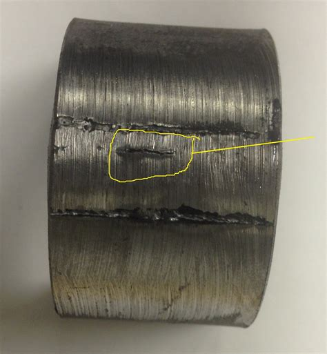 Weld Defect #2 – Incomplete Penetration – AXIS Inspection
