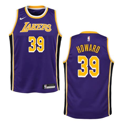 Youth Los Angeles Lakers #39 Dwight Howard Statement