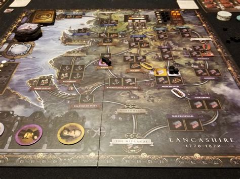 Brass Lancashire Review - The Thoughtful Gamer