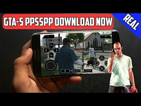 How to Download GTA 5 ISO PPSSPP Game For Android Highly