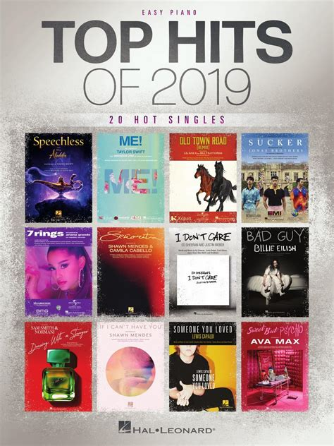 Top Hits of 2019 - Sheet Music - Read Online