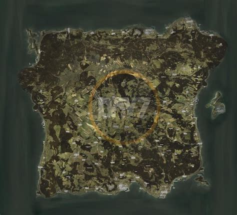 Map concept for dayz standalone : dayz