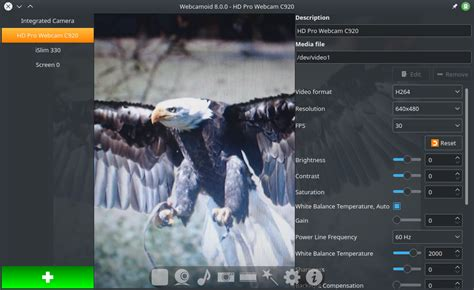 Webcamoid is a one-stop webcam capture and recording suite