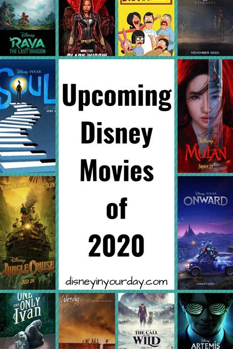 Upcoming Disney movies of 2020 - Disney in your Day