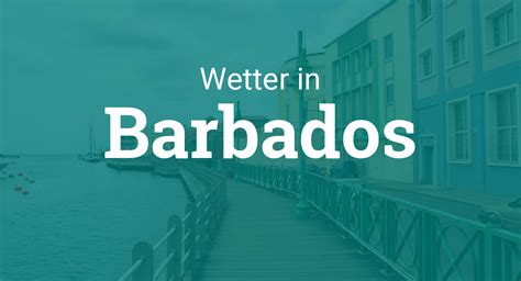 Wetter Barbados