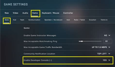 CSGO config commands you need to know (and how to use them