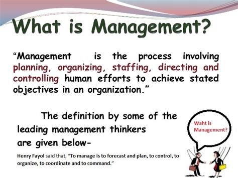 What is Management to you?