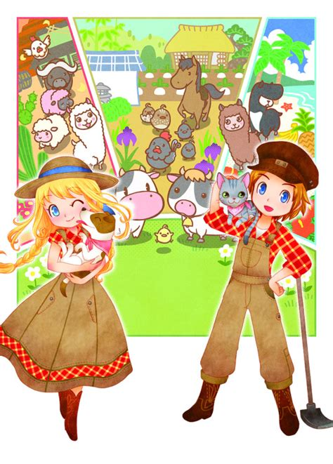 Story of Seasons: Trio of Towns | English Otome Games Wiki