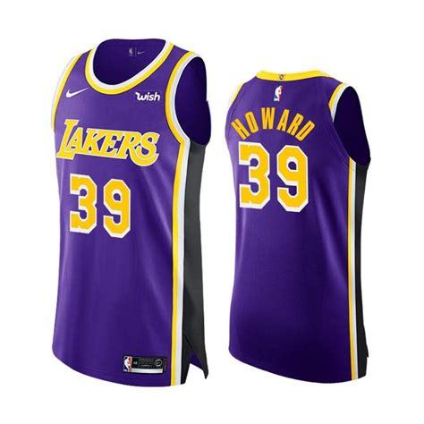 Los Angeles Lakers Men's #39 Dwight Howard Authentic
